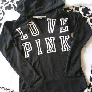VS Love Pink Hoodie SZ XS